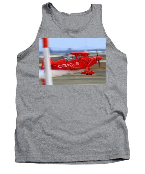 Hi Speed Low Pass By Sean Tucker At Salinas Ksns Air Show Tank Top