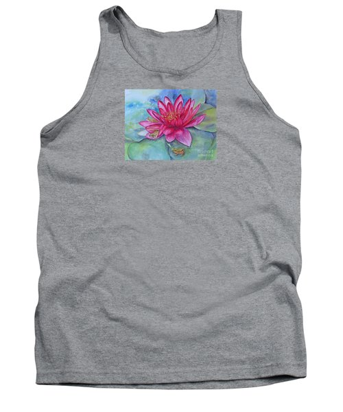 Tank Top featuring the painting Hide And Seek by Beatrice Cloake