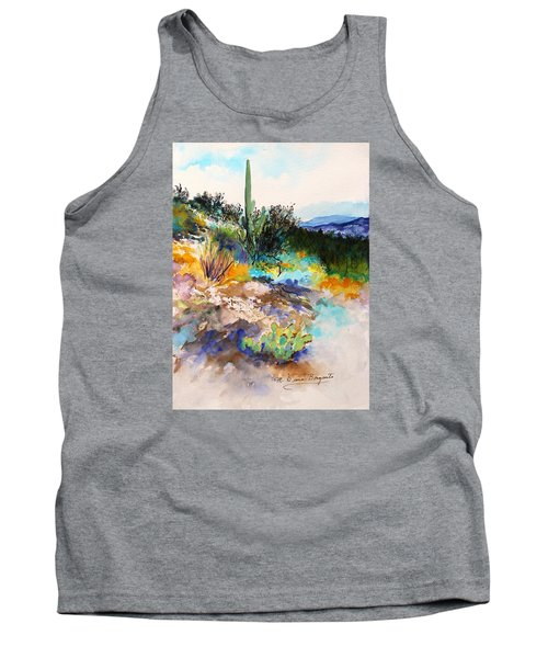 High Desert Scene 2 Tank Top