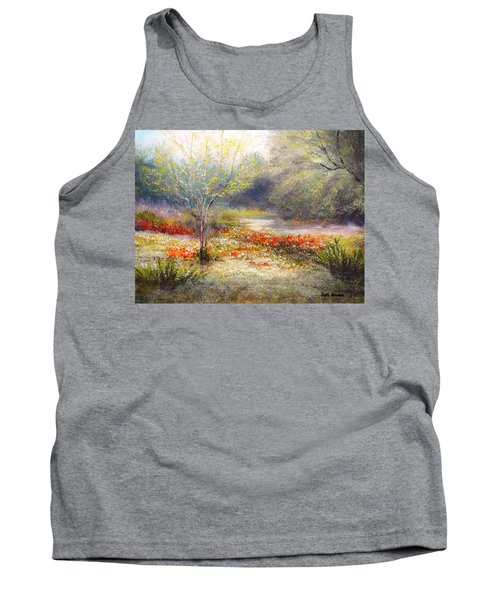 Hill Country Wildflowers Tank Top by Patti Gordon