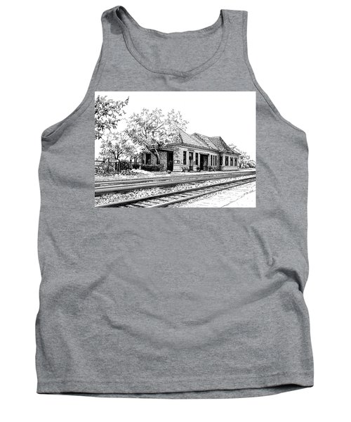 Hinsdale Train Station Tank Top