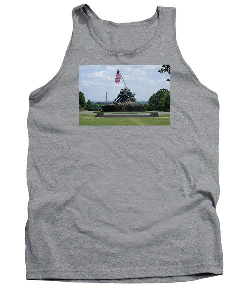 Tank Top featuring the photograph Iwo Jima by Heidi Poulin