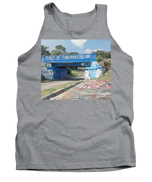 Historic Pensacola Graffiti Bridge Tank Top
