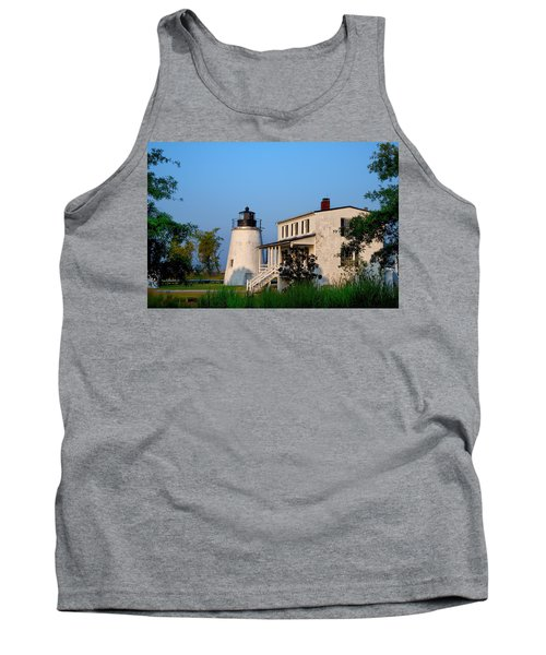 Historic Piney Point Lighthouse Tank Top