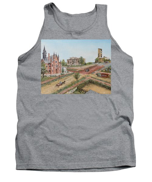 Historic Street - Lawrence Kansas Tank Top