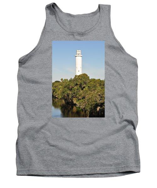 Historic Water Tower - Sulphur Springs Florida Tank Top by John Black