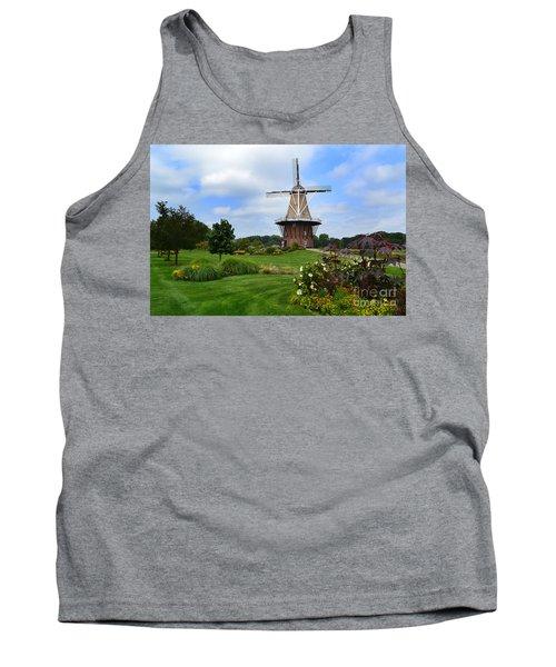 Holland Michigan Windmill Landscape Tank Top