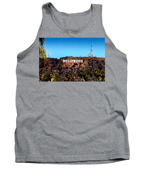 Hollywood Sign Tank Top
