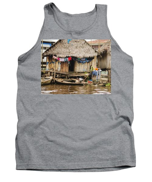 Home In Shanty Town Tank Top