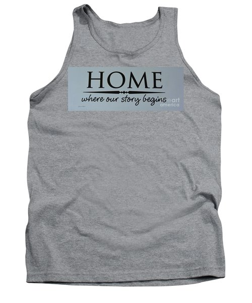 Tank Top featuring the photograph Home by Jeannie Rhode