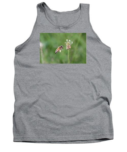 Honeybee And English Plantain Tank Top