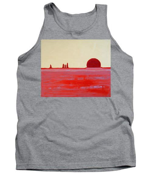 Hoodoo Sunrise Original Painting Tank Top