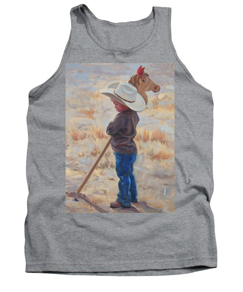 Horse And Rider Tank Top