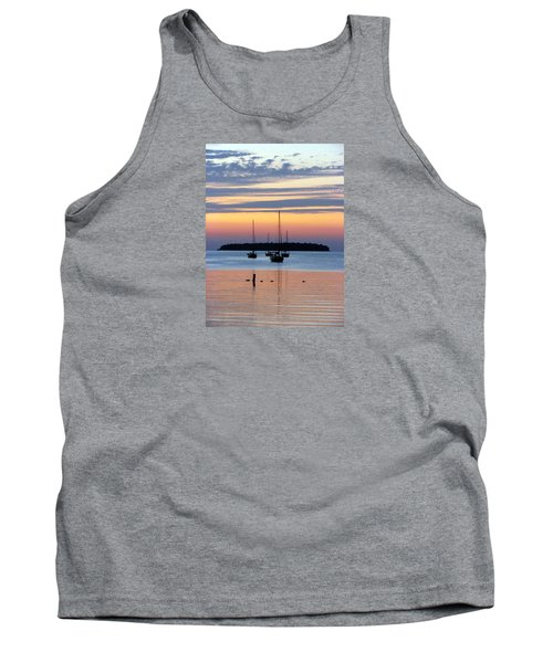 Horsehoe Island Sunset Tank Top by David T Wilkinson