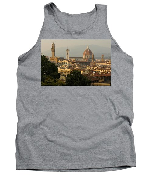 Hot Summer Afternoon In Florence Italy Tank Top by Georgia Mizuleva