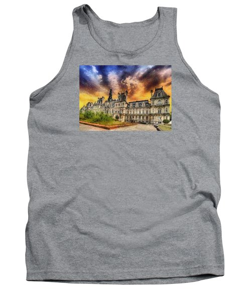 Sunset At The Hotel De Ville Tank Top by Charmaine Zoe