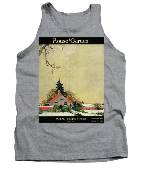 House And Garden Annual Building Number Cover Tank Top