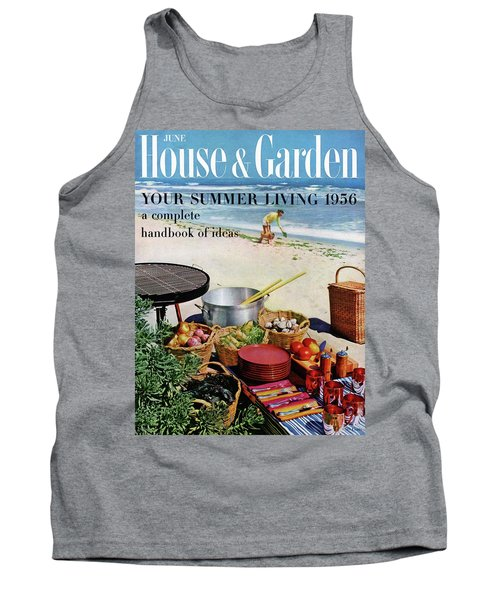 House And Garden Ideas For Summer Issue Cover Tank Top