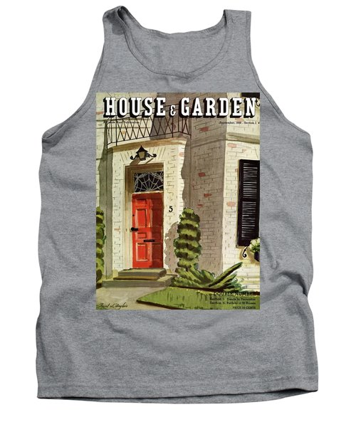 House And Garden Trends In Decorating Cover Tank Top