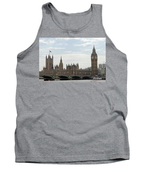 Houses Of Parliament Tank Top by Tony Murtagh