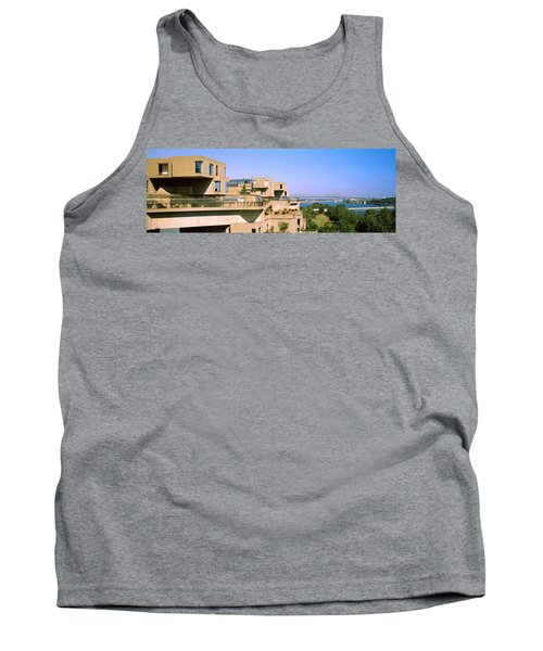 Housing Complex With A Bridge Tank Top