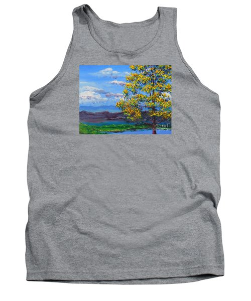 How Lovely Is Your Dwelling Place Tank Top by Dan Whittemore