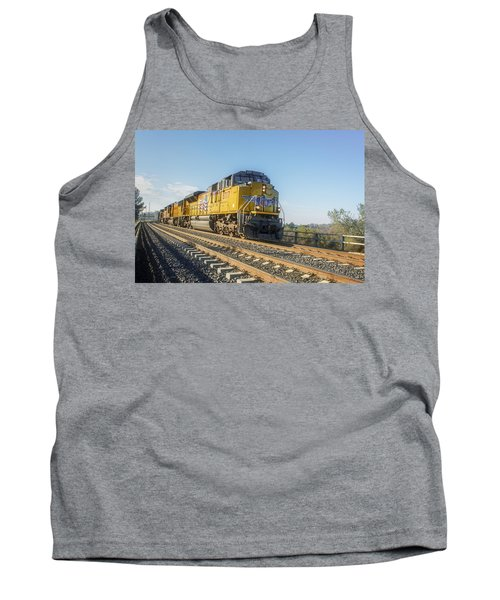 Tank Top featuring the photograph Hp 8717 by Jim Thompson