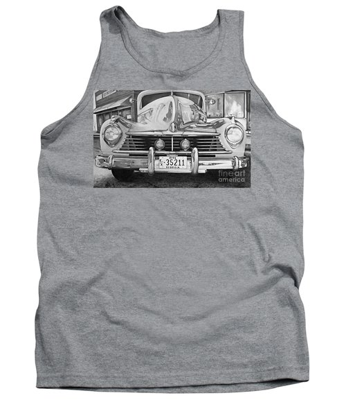 Hudson Dreams In Black And White Tank Top