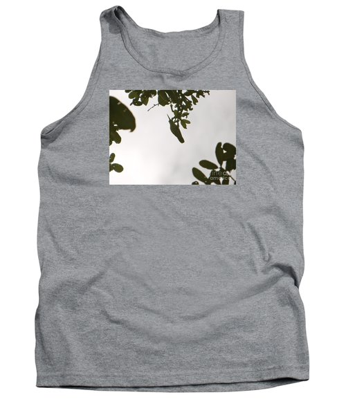 Tank Top featuring the photograph Hummingbird Silhouette 1 by Joy Hardee