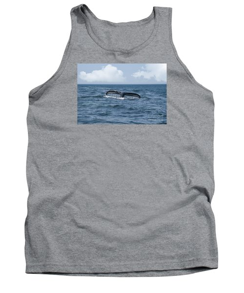 Humpback Whale Fin Tank Top