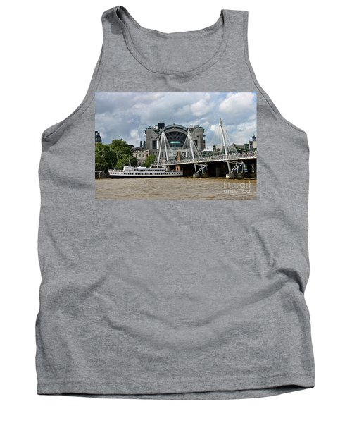 Hungerford Bridge And Charing Cross Tank Top