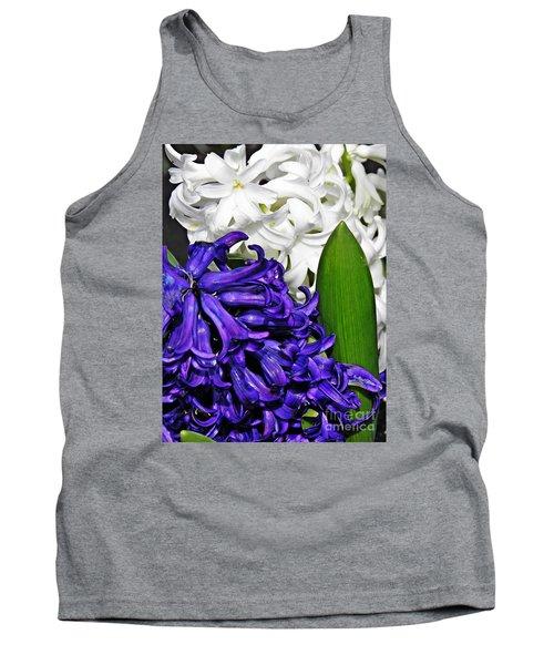 Hyacinths Tank Top by Sarah Loft