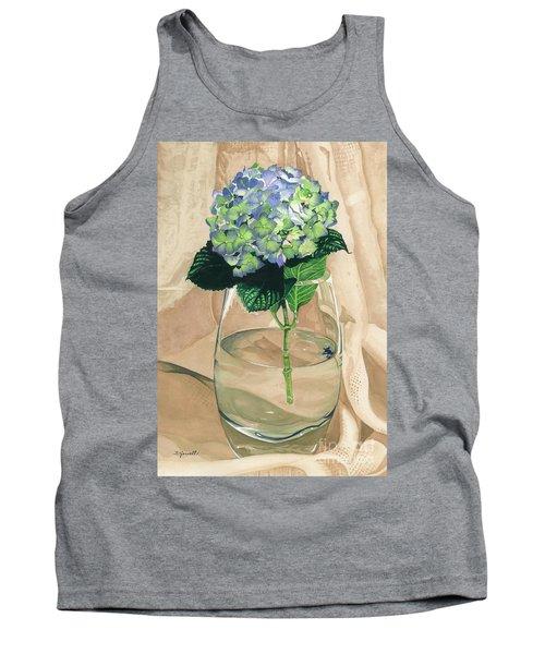 Hydrangea Blossom Tank Top