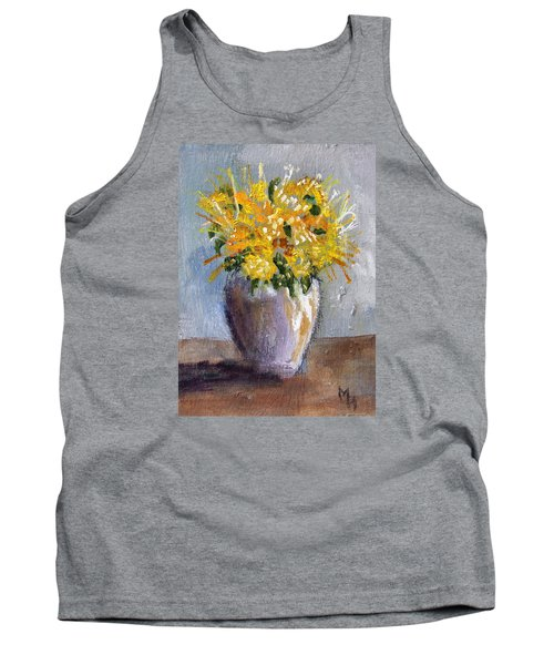 I Think Of Spring Tank Top by Michael Helfen