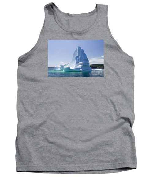 Tank Top featuring the photograph Iceberg Canada by Liz Leyden