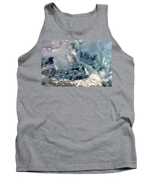 Iceberg Detail Tank Top by Cathy Mahnke