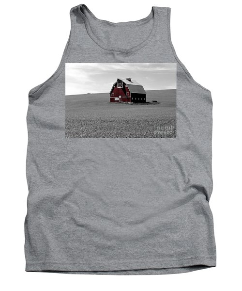 Icon Of The Palouse Tank Top by Sharon Elliott