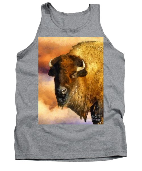 Icon Of The Plains Tank Top by RC deWinter