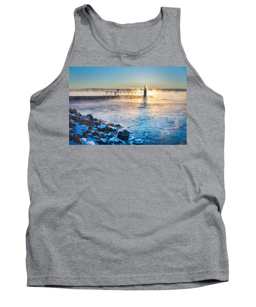 Icy Morning Mist Tank Top by Bill Pevlor