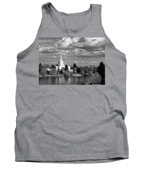 Idaho Falls Temple Tank Top by Eric Tressler