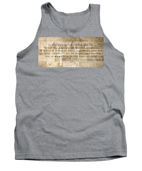 If Ever Proof Were Needed Tank Top