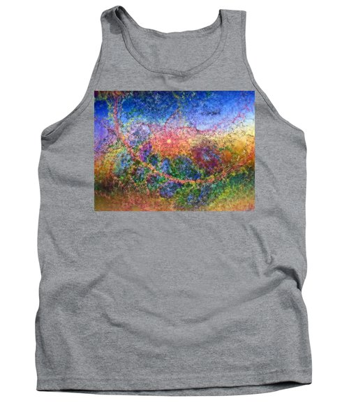 Tank Top featuring the digital art Impressionist Dreams 1 by Casey Kotas
