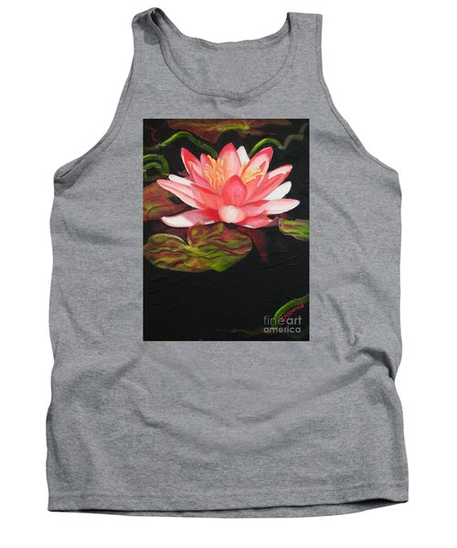 Tank Top featuring the painting In Full Bloom by Janet McDonald