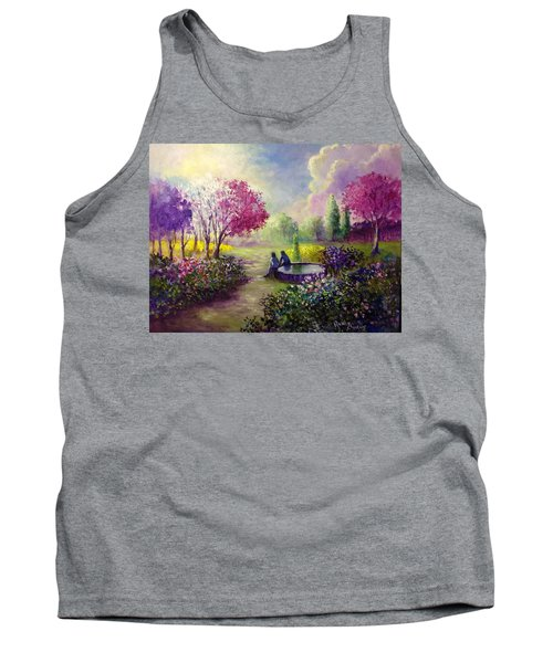 In Heaven Everything Is Fine Tank Top by Randy Burns
