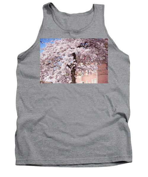 In Its Glory. Pink Spring In Amsterdam Tank Top
