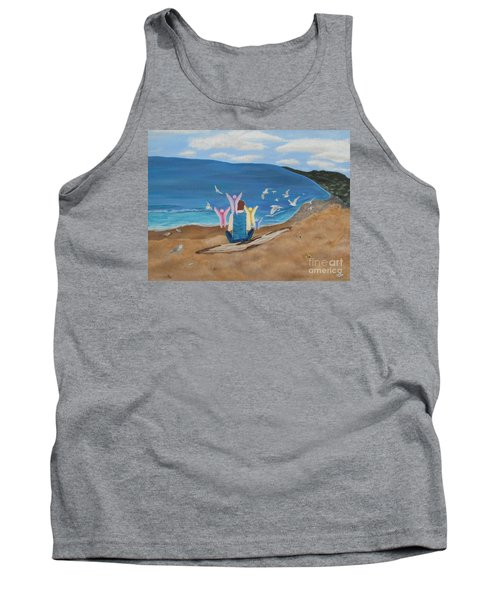 In Meditation Tank Top by Cheryl Bailey