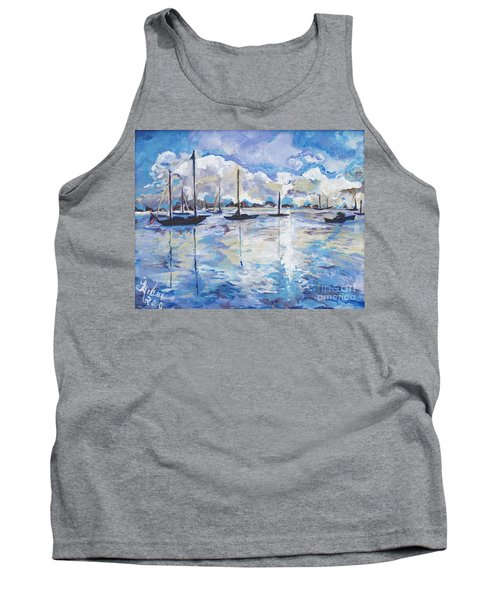 In Search For America's Freedom Tank Top by Helena Bebirian