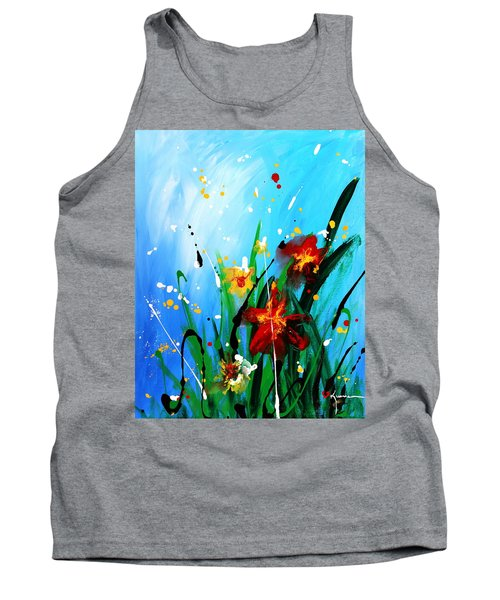 In The Garden Tank Top by Kume Bryant