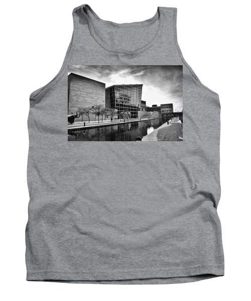 Indiana State Museum Tank Top by David Haskett