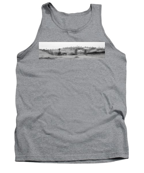 Inis Oirr Cemetery Tank Top by Tara Potts